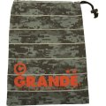 DISITAL CAMO SHOES CASE GRAY/RED