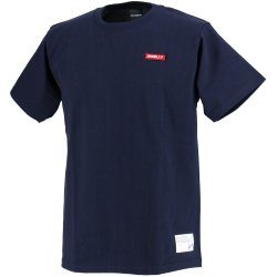 画像1: GRANDE.F.P EMBROID S/S-T NAVY