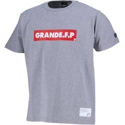 画像1: GRANDE.F.P PRINT S/S-T GRAY/BLACK