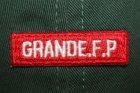 他の写真2: GRANDE.F.P.ロゴ.刺繍.ウォッシュド.ツイル.B.B.キャップ ダーク.グリーン