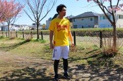 画像3: 【ジュニア】スカルプロトタイプ.ドライメッシュTシャツ レッドxホワイト