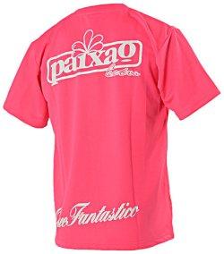 画像2: GRANDE プロトタイプ ドライメッシュTシャツ ピンク×グレー