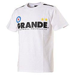 画像1: GRANDE プロトタイプTシャツ ホワイト/ブラック