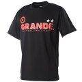GRANDE COLORFUL DOT PROTO TYPE DRY MESH T-SHIRTS BLACK/RED