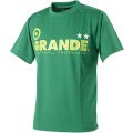 GRANDE COLORFUL DOT PROTO TYPE DRY MESH T-SHIRTS GREEN/LIME