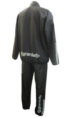 画像2: GRANDE.F.P.プロト..ハーフジップハイパーピステ.セットアップ ブラックxグレー