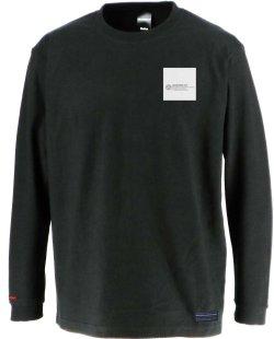 画像2: グランデ・エフ・ピー、GRANDE.F.Pハイパーロゴバックプリント.ロングスリーブTシャツ ブラックxホワイト