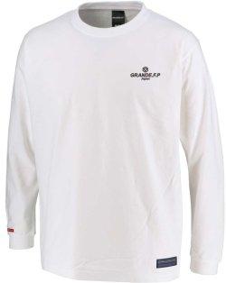 画像2: グランデ・エフ・ピー、グランデ・エフ・ピー、NINO DEL FUTBOLフォトプリント.ロングスリーブTシャツ ホワイトxブラック