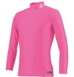 画像1:  GRANDE.F.P ベーシックインナーハイネック.パワーシャツ  ピンク