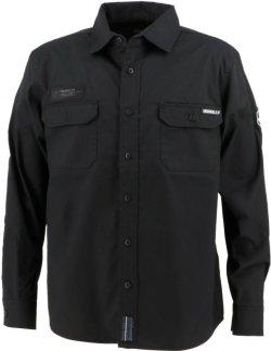 画像1: GRANDE.F.P.ヘキサゴン.ワークシャツ ブラック