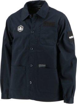 画像1: GRANDE.F.P.NINO DEL FUTOBAL.カバーオールジャケット ブラック