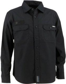 画像2: GRANDE.F.P.ヘキサゴン.ワークシャツ ブラック