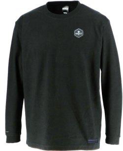 画像1: GRANDE.F.P BASICヘキサゴン..ロングスリーブTシャツ ブラックxホワイト