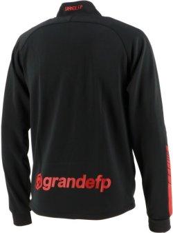 画像3: GRANDE.F.Pハイパー.ハーフジップ.ストレッチジャージジャケット ブラックxレッド