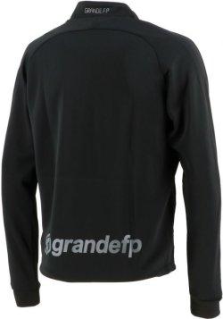 画像3: GRANDE.F.Pハイパー.ハーフジップ.ストレッチジャージジャケット ブラックxグレー