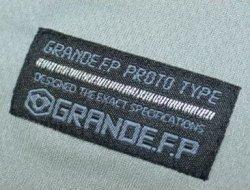 画像5: GRANDE.F.P アクティブドライメッシュ.ボタンダウンポロシャツ グレー