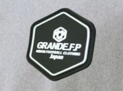画像4: GRANDE.F.P.定番ベーシック.ヘキサゴン.スウェット.ハーフパンツ ヘザーグレーxブラック