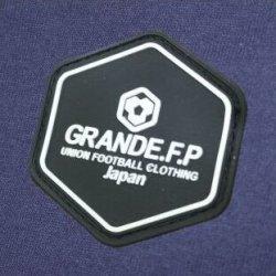 画像4: GRANDE.F.P.定番ベーシック.ヘキサゴン.スウェット.ハーフパンツ ネイビーxブラック