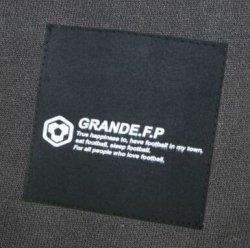 画像4: GRANDE.F.P BASICヘキサゴン..ロングスリーブTシャツ ブラックxホワイト