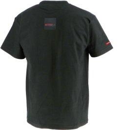 画像2: GRANDE.F.P BASICヘキサゴン.半袖Tシャツ ブラックxレッド