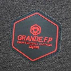 画像3: GRANDE.F.P BASICヘキサゴン.半袖Tシャツ ブラックxレッド