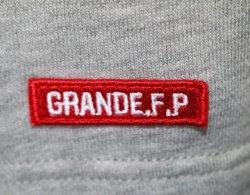 画像5: GRANDE.F.P BASICヘキサゴン.半袖Tシャツ ブラックxレッド