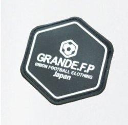 画像4: 【予約:4月上旬発売】GRANDE.F.P.ハイパーロゴ.ヘキサゴン.プラクティスシャツ  ホワイト/ブラック