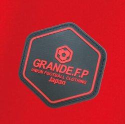画像4: GRANDE.F.P.ハイパーロゴ.ヘキサゴン.プラクティスシャツ  レッドxブラック