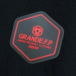 画像4: 【予約:4月上旬発売】GRANDE.F.P.ハイパーロゴ.ヘキサゴン.プラクティスシャツ  ブラックxレッド