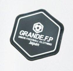 画像5: GRANDE.F.P..ハイパーロゴ.ヘキサゴン.プラクティスパンツ ホワイトxブラック