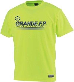 画像1: GRANDE.F.P.プロトタイプ.モノグラム.プラクティスシャツ 蛍光イエローxネイビー