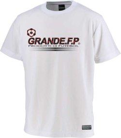 画像1: GRANDE.F.P.プロトタイプ.モノグラム.プラクティスシャツ ホワイトxブラック