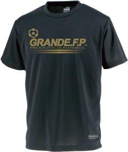 画像1: GRANDE.F.P.プロトタイプ.モノグラム.プラクティスシャツ ブラックxゴールド