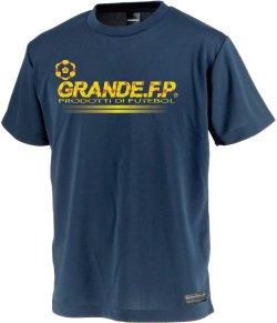 画像1: GRANDE.F.P.プロトタイプ.モノグラム.プラクティスシャツ ネイビーxイエロー