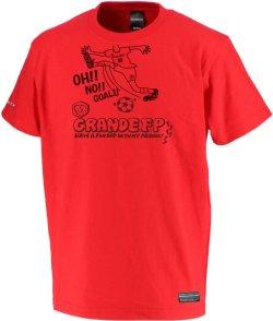 画像1: ■グランデ.エフ.ピー.OH ! ! NO ! GOAL ! -Tシャツ レッド