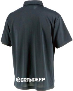 画像2: 【BIGサイズ対応商品】グランデ・エフ・ピーSTANDARD.B.D.ポロシャツ ブラックxホワイト