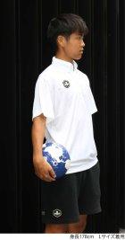他の写真2: 【BIGサイズ対応】グランデ・エフ・ピー.ヘキサゴン.ハイパー.ボタンダウンポロシャツ ブラックxホワイト