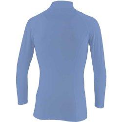 画像2:  GRANDE.F.P ベーシックインナーハイネック.パワーシャツ  サックスブルー