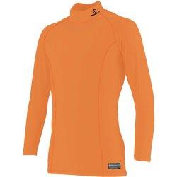 画像1:  GRANDE.F.P ベーシックインナーハイネック.パワーシャツ  オレンジ