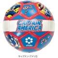 MARVELコラボサッカーボール<レトロ柄[HERO]シリーズ> キャプテン・アメリカ