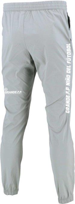 画像2: 【BIGサイズ対応】GRANDE.F.P.ドライストレッチピステロングパンツ.グレーxホワイト