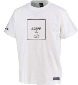 画像2: 【BIGサイズ対応商品】GRFP.No.10スクエアプリントプレミアTシャツ ホワイトxブラック